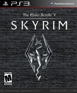 The Elder's Scrolls - Skyrim - Cover
