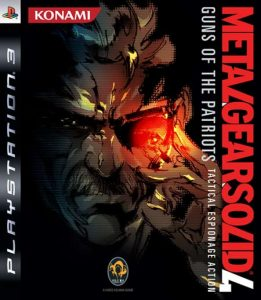 MGS4 - Cover