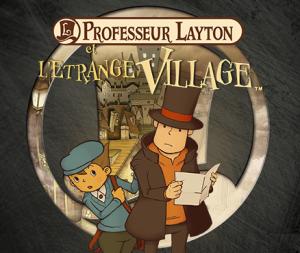 Professeur Layton Et L'étrange Village - Cover