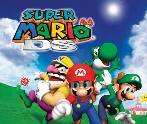 Super Mario 64 DS - Cover
