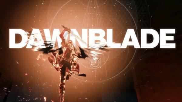 "le logo du super ""dawnblade"""