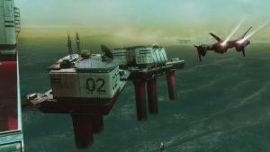 les plateformes pétrolières de Titan